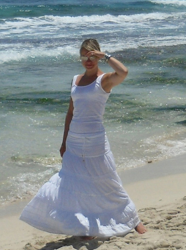 Maren Teichert: eine wunderschöne Frau, innen wie außen, zu Gast beim Montagsinterview bei Texterella