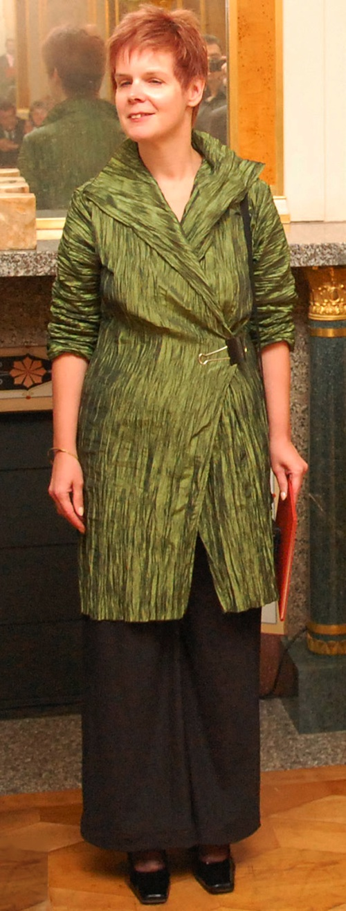 2009: Sehr elegant im grünen Gehrock