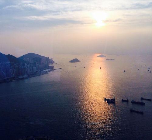 Abendruhe bei Hongkong