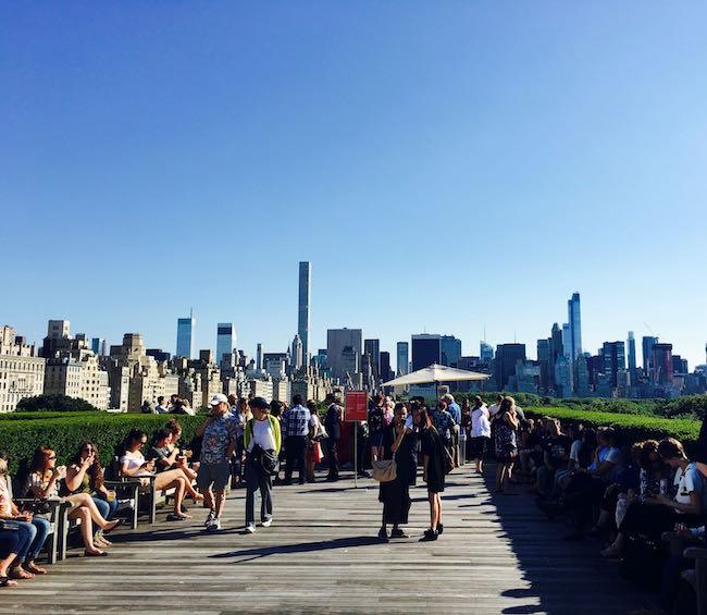 Die schönste Dachterrasse der Welt: Auf dem Metropolitan Museum of Art, mit Blick auf Uptown und dem Central Park