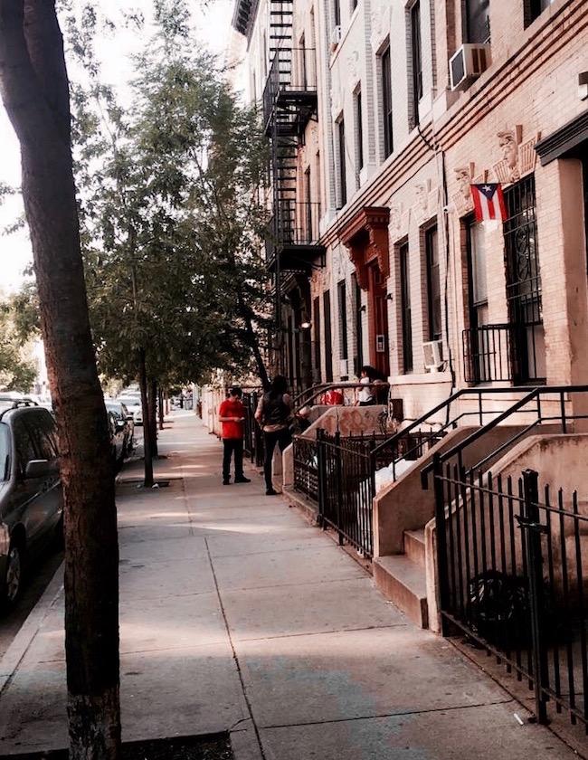 Bushwick Impressionen. Bushwick ist ein Stadtviertel in Brooklyn, New York