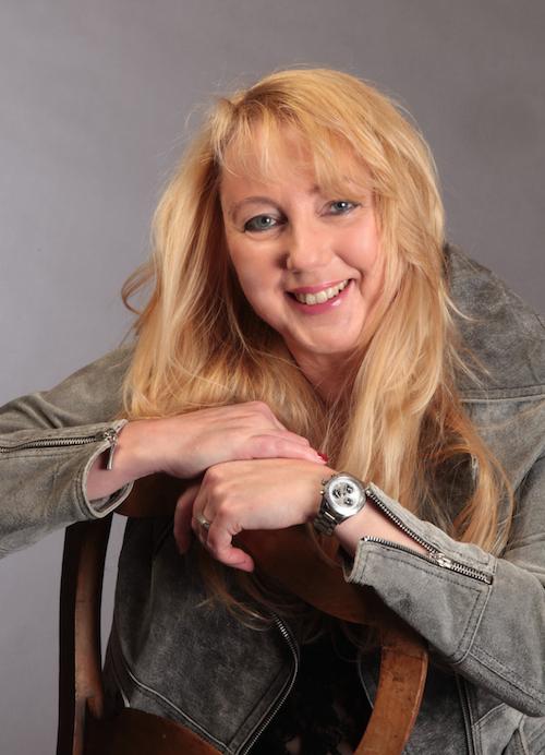 Christine Lawens, 2014. Porträtaufnahme.