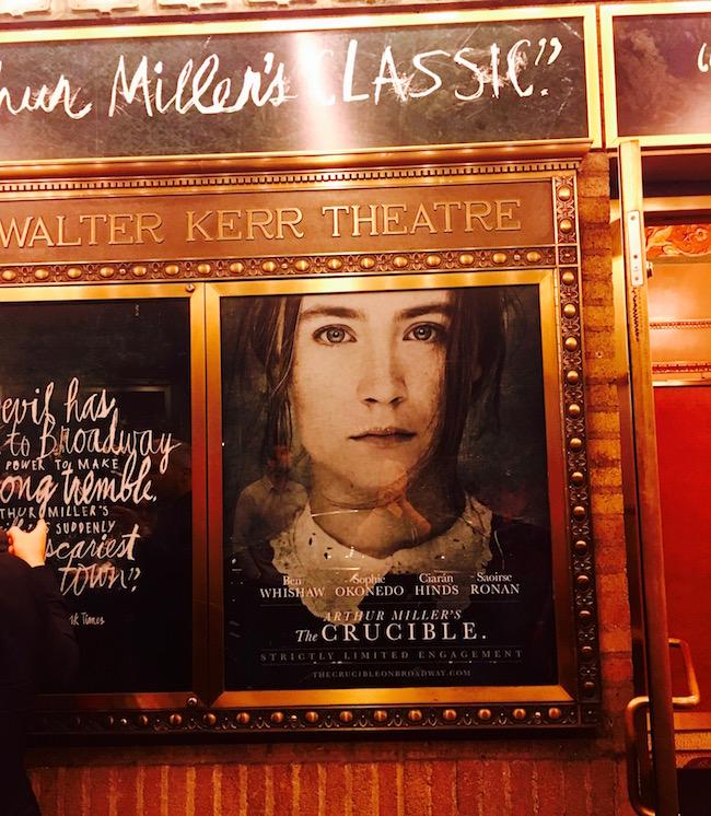 Crucible von Arthur Miller im Walter Kerr Theater