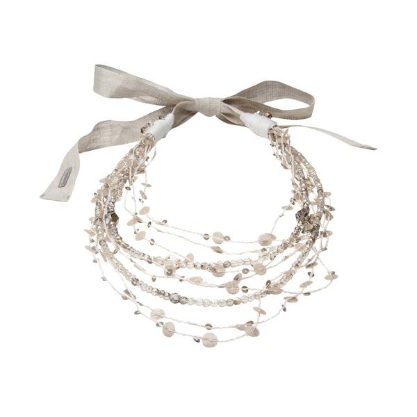 gebundene Damenkette mit zierlichen Schmucksteinen von Fabiana Filippi