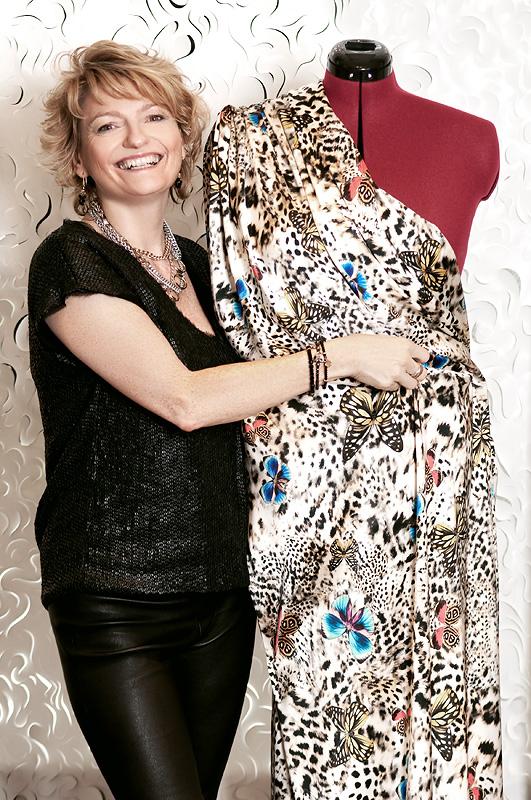 Doris Megger, Modedesignerin für große Größen