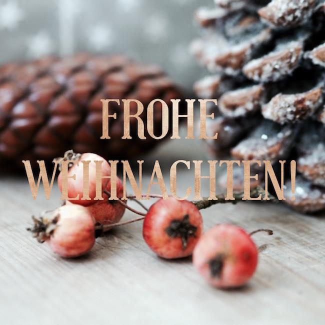 Frohe und glückliche Weihnachten!