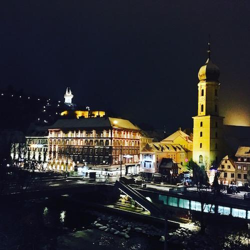 Graz, Österreich, Blick über die Mur