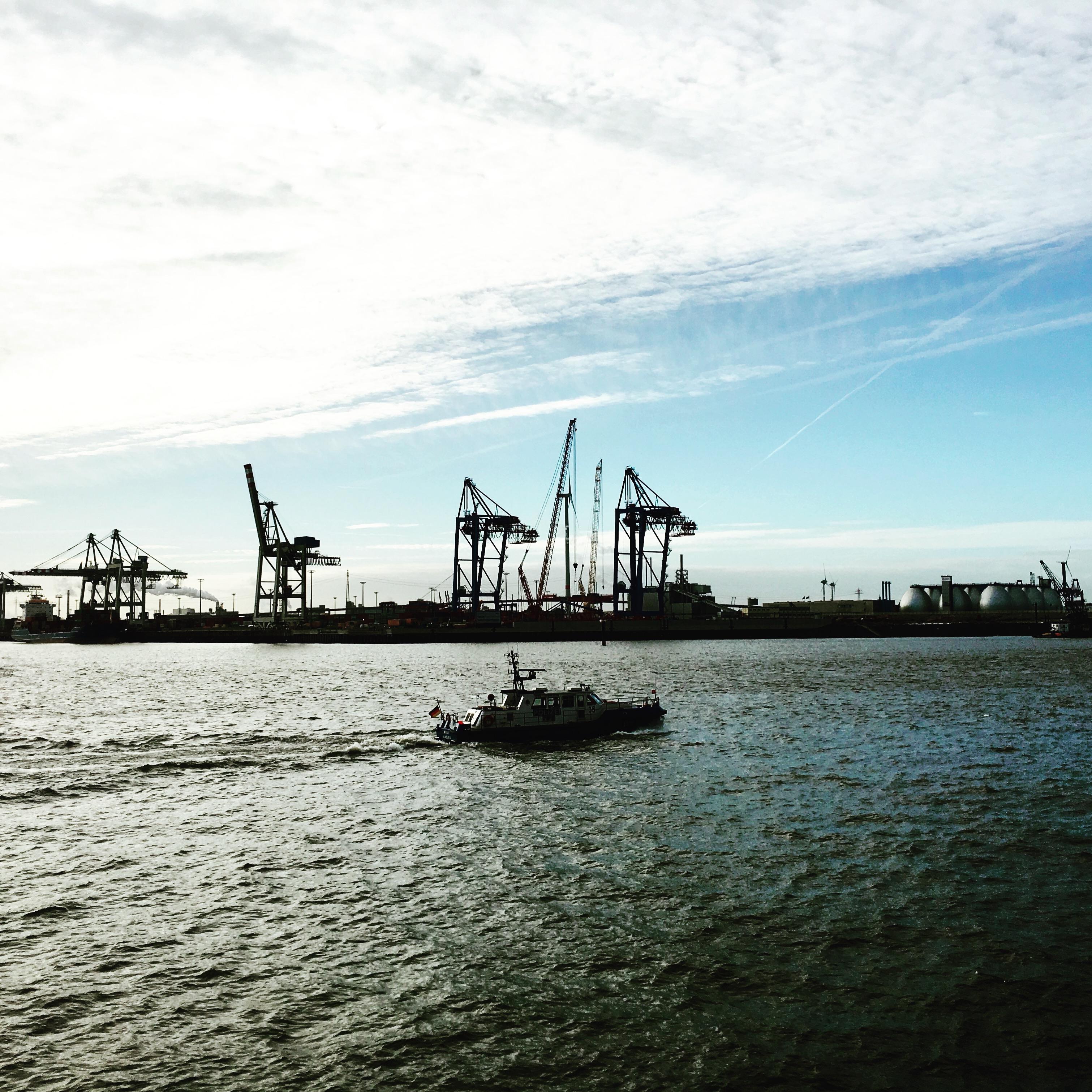 Hamburg am Hafen