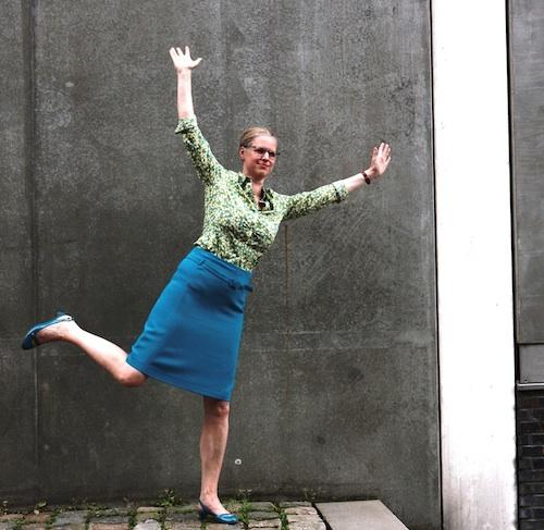Isabel Bogdan modelt für garment