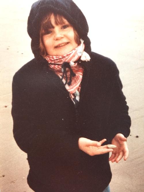 Ulrike Bartos aka Miss Bartoz im Jugendalter: