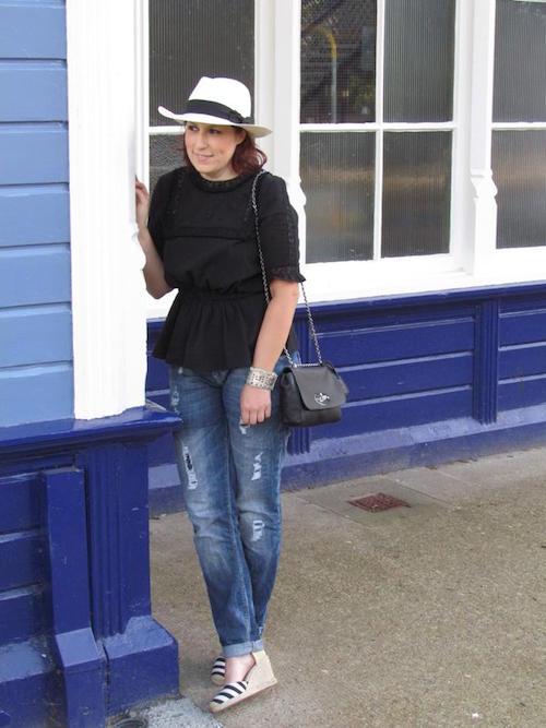 Kirsten Wick liebt Hüte.