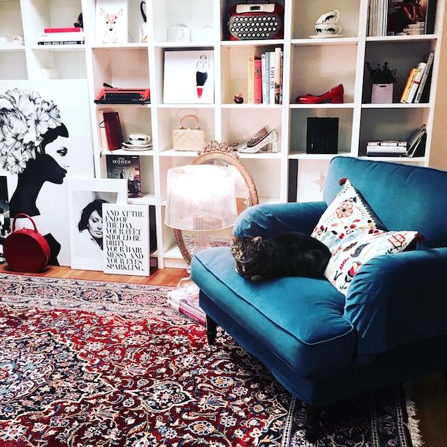 Bei Texterella zuhause: So wohnt und lebt Texterella. Das Arbeitszimmer!