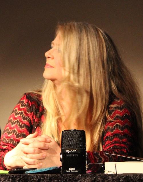 Michaela Pelz: Moderatorin auf der Leizpiger Buchmesse