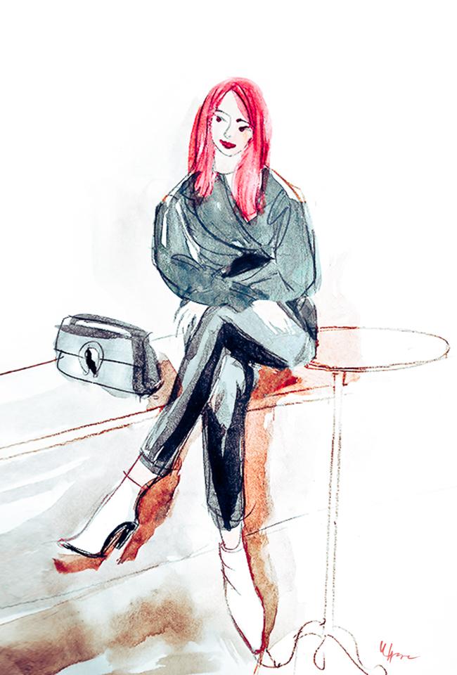 Modekolumne: Das Comeback der weißen Stiefel
