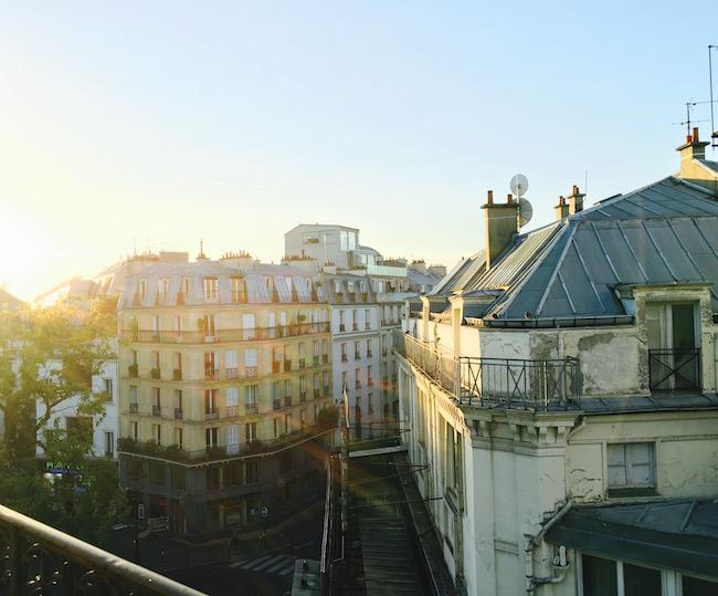 Morgensonne über Pigalle