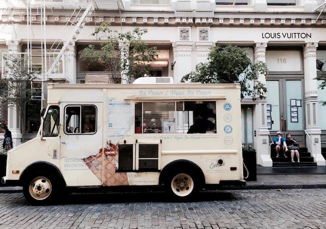 Ein Nachmittag in SOHO: Eiswagen