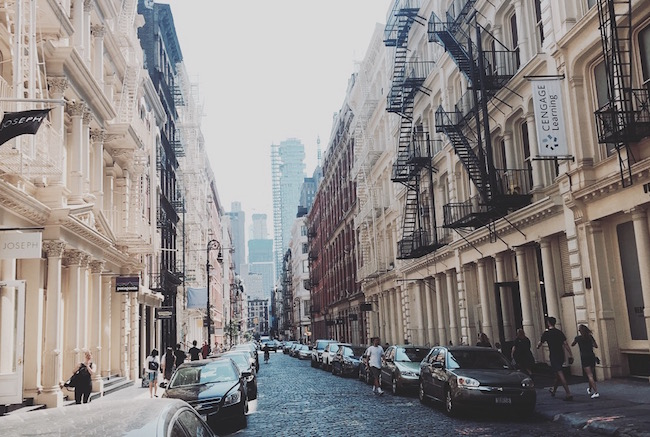 Ein Nachmittag in SOHO: Greene Street