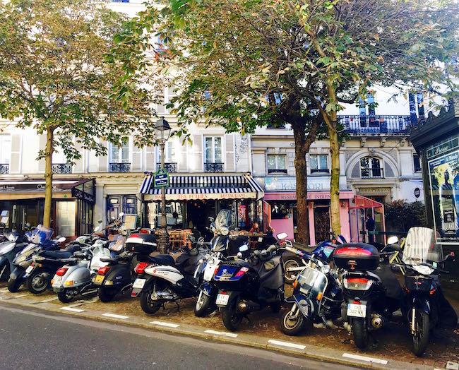 Straßenszene in Pigalle