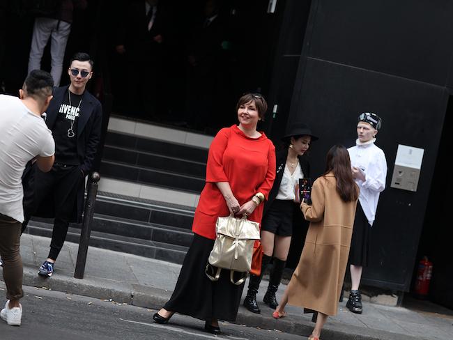 Paris Fashionweek: Vor der Show von Anne Sofie Madsen