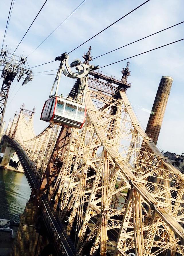 Roosevelt Island Tramway: Mit der Seilband durch Manhattan