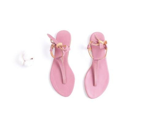 Sandalen in Rosa