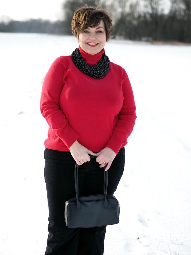 Was ein roter Rollkragenpulli mit der schönen neuen Bloggerwelt zu tun hat - hier erfährst du es!