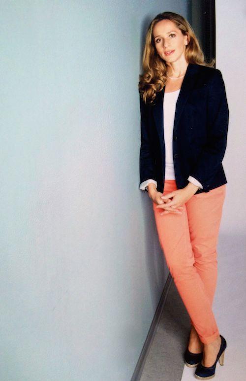 Tamina Kallert mag es sportlich-klassisch (2012)