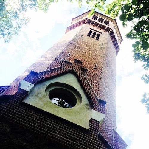 Turm für Zwei im Abendlicht