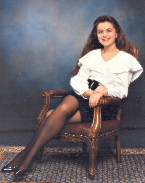 Valerie Müller von life40up mit Anfang 20
