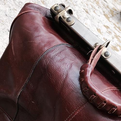 Weekender aus Leder (Vintage)