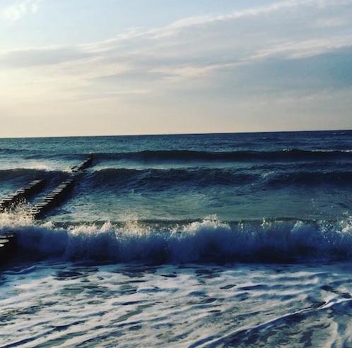 Wellen bei Windstärke 6