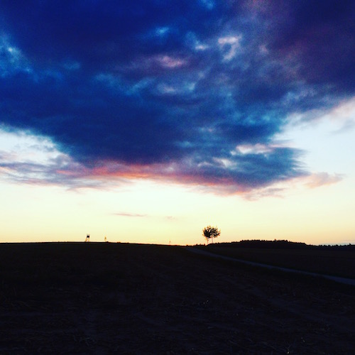 Wolkenformationen im Ampertal