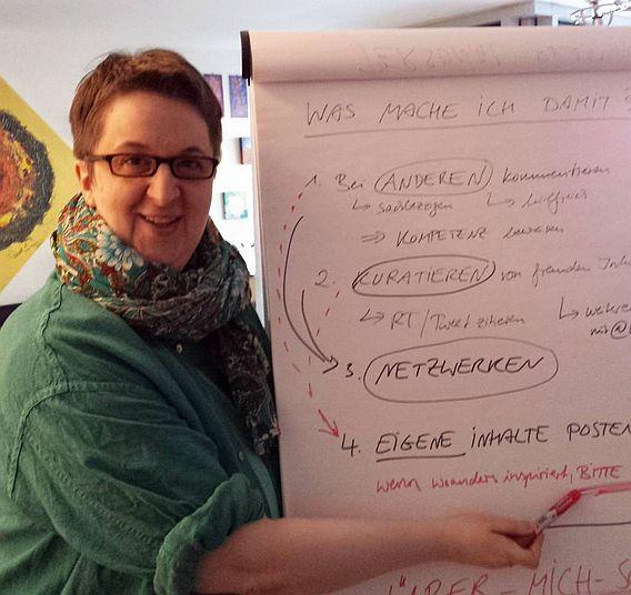 Annette Schwindt, Beraterin für Digitale Kommunikation und Bloggerin