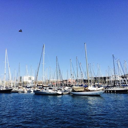 Barcelona am Hafen