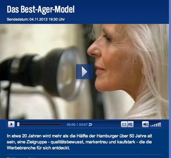 Anna von Rüden ist 61 Jahre alt. Und ein deutsches Topmodel.