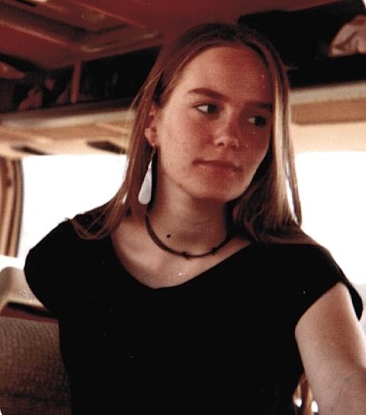 Christine Finke, Oberstufe mit einem Ohrring