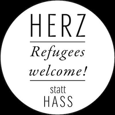 Herz statt Hass: Refugees welcome