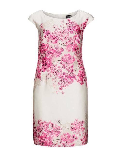 Kleid mit Kirschblüten von Herrmann Lange, gesehen bei Navabi