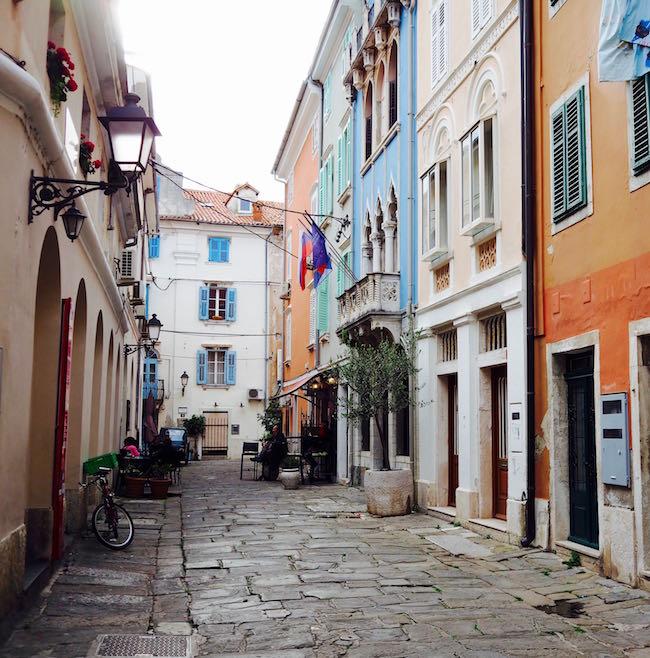 Die Altstadt im slowenischen Piran
