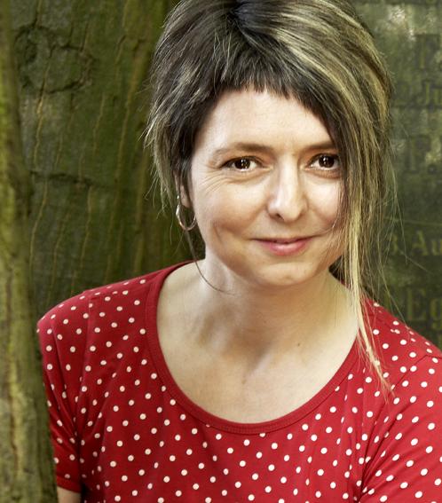 Tanja Schumacher mit asymmetrischer Frisur
