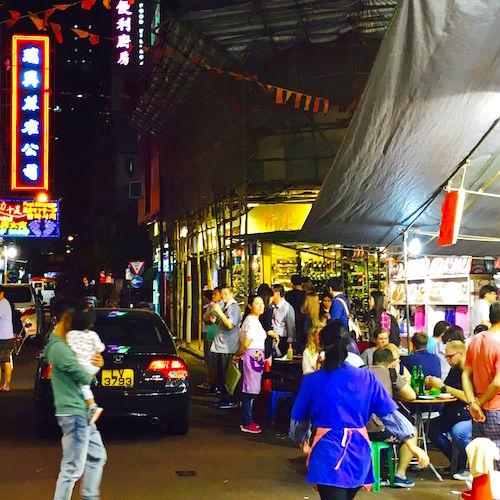 Nightlife in Hongkong
