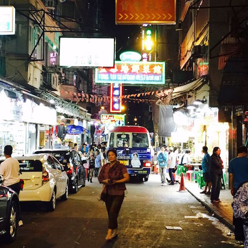 Nightlife in Hongkong