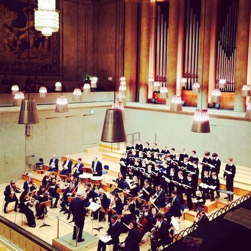 Weihnachtsoratorium von Bach in der Münchner Residenz