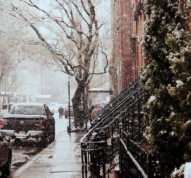White Christmas in New York: Auf texterella.de erzähle ich dir die Geschichte von Träumen und Sehnsüchten. Und was New York damit zu tun hat!